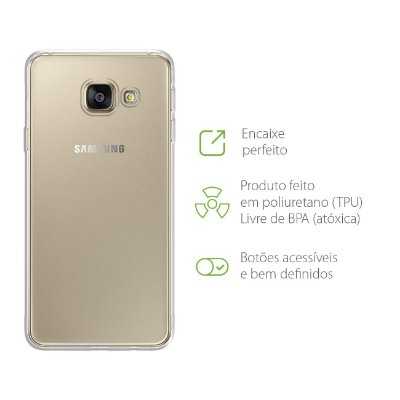 Capa Transparente para Galaxy A9/A9 Pro