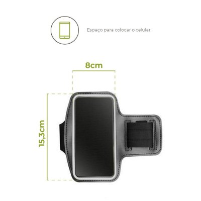 Braçadeira para iPhone 5/5S/SE