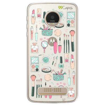 Capa para Moto Z Play - Make Up