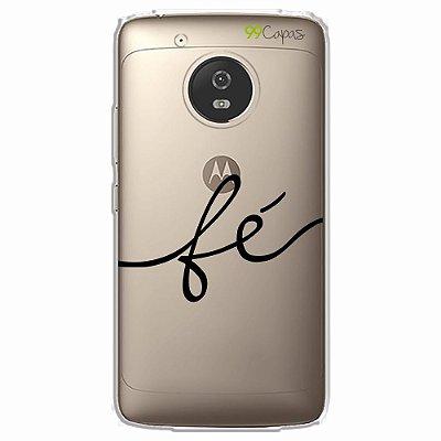 Capa para Moto G5 - Fé
