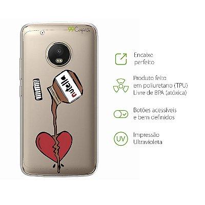 Capa para Moto G5 Plus - Nutella