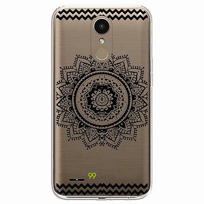 Capa para LG K10 2017 - Mandala Preta