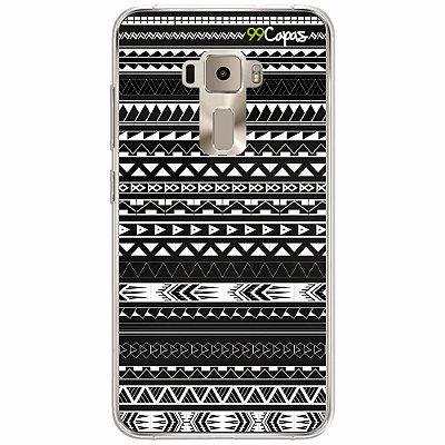 Capa para Asus Zenfone 3 Max - 5.2 Polegadas - Maori Preta