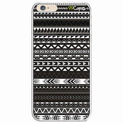 Capa para iPhone 6/6S - Maori Preta