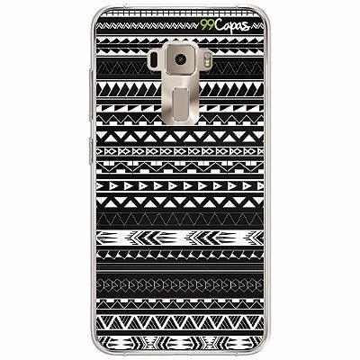 Capa para Asus Zenfone 3 5.5 - Maori Preta