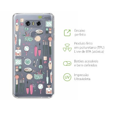 Capa para LG G6 - Make Up