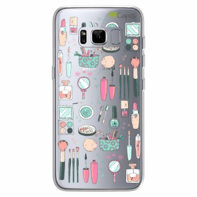 Capa para Galaxy S8 - Make Up