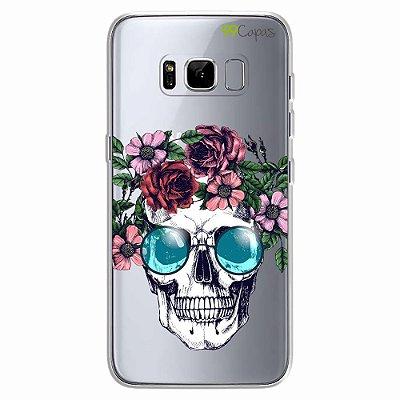 Capa para Galaxy S8 - Caveira