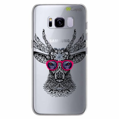 Capa para Galaxy S8 Plus - Alce Hipster