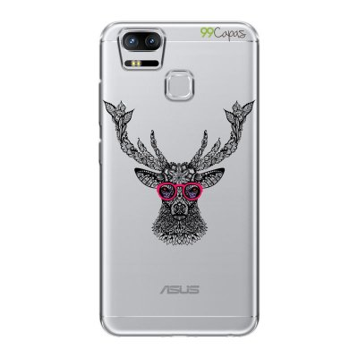 Capa para Asus Zenfone 3 Zoom - Alce Hipster