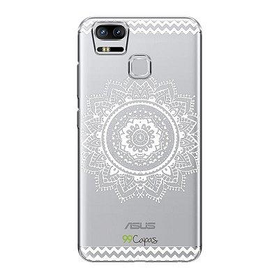 Capa para Asus Zenfone 3 Zoom - Mandala Branca