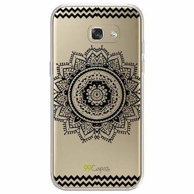 Capa para Galaxy A7 2017 - Mandala Preta
