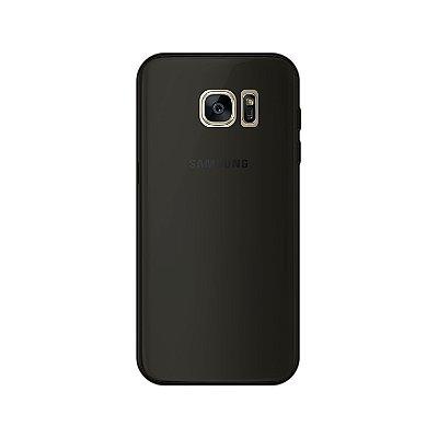 Capa Fumê para Galaxy S7 Edge {Semi-transparente}