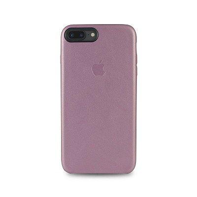 Capa Couro Rosa iPhone 7
