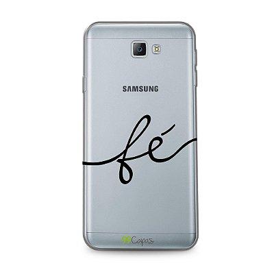 Capa para Galaxy J5 - Fé
