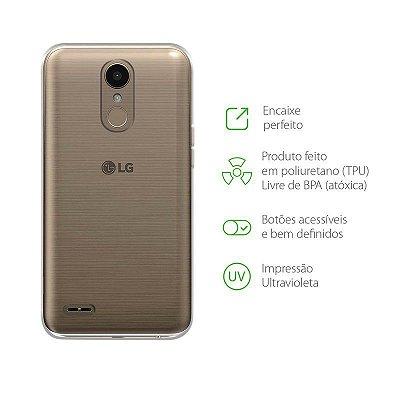 Capa Transparente para LG K10 Pro