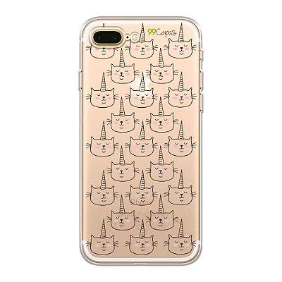Capa para iPhone 7 Plus - Catcorn