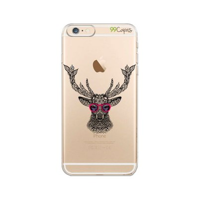 Capa para iPhone 6/6S - Alce Hipster