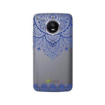 Capa Moto E4 Plus - Mandala Azul