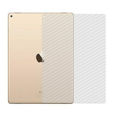 Película de Fibra de Carbono Traseira Transparente para Apple iPad 2/3/4 - 99capas