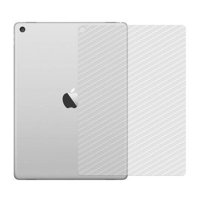 Película de Fibra de Carbono Traseira Transparente para Apple iPad Air Mini 1/2/3 - 99capas