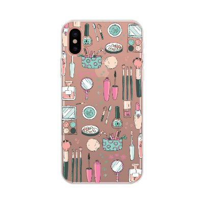 Capa para iPhone X/XS - Make Up