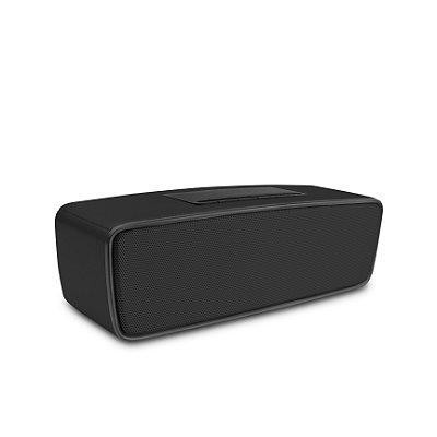 Caixa de Som Bluetooth Speakers Preta - 99Capas