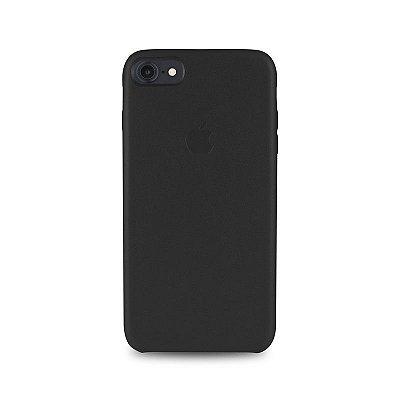 Capa Couro Preta Apple iPhone 8