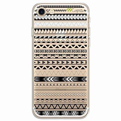 Capa para iPhone 8 - Maori Branca