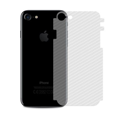 Película Traseira de Fibra de Carbono Transparente para iPhone 8 - 99capas