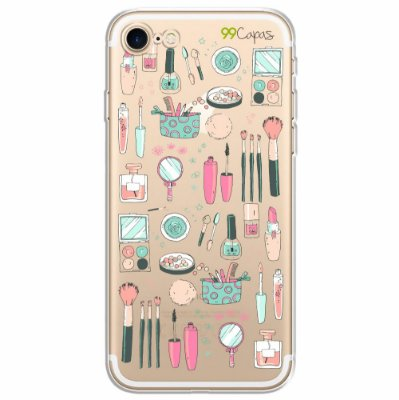 Capa para Iphone 8 Plus - Make Up
