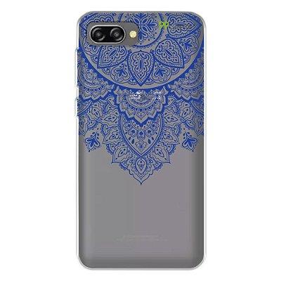 Capa para Zenfone 4 Max - Mandala Azul
