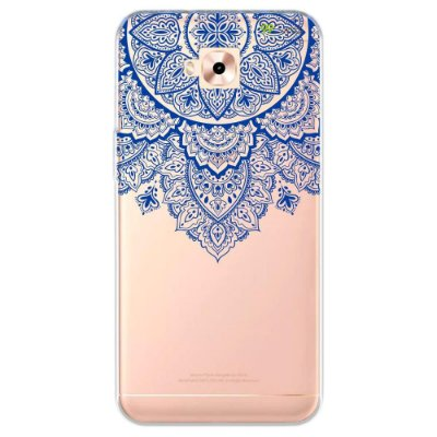 Capa para Zenfone 4 Selfie - Mandala Azul