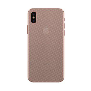 Película Traseira de Fibra de Carbono Transparente para iPhone X/XS - 99capas