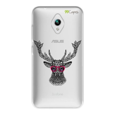 Capa para Zenfone GO ZC500TG - Alce Hipster