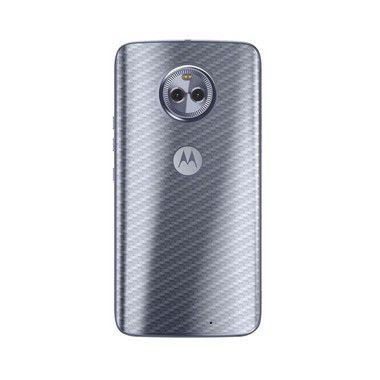 Película Traseira de Fibra de Carbono Transparente para Moto X4 - 99Capas