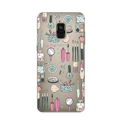 Capa para Galaxy A8 2018 - Make Up