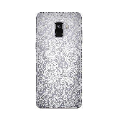 Capa para Samsung Galaxy A8 Plus - Rendada