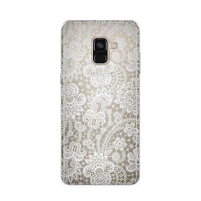 Capa para Samsung Galaxy A8 2018 - Rendada