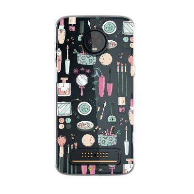Capa para Moto Z3 Play - Make Up