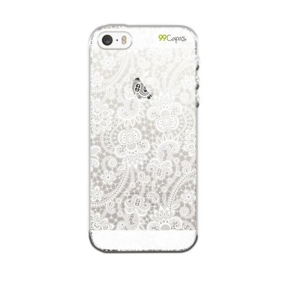Capa para iPhone 5/5S/SE - Rendada