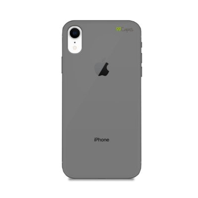 Capa Fumê para iPhone XR {Semi-transparente}