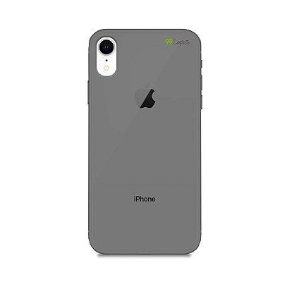 Capa Fumê para iPhone XR {Semi-transparente}