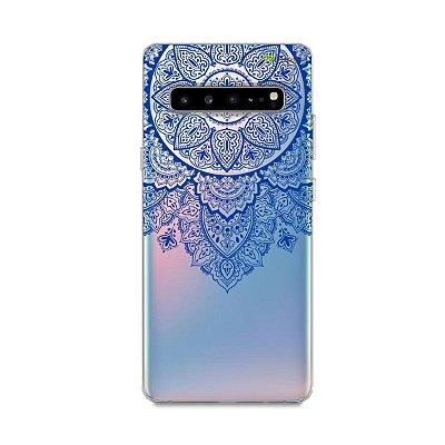 Capa para Galaxy S10 - Mandala Azul
