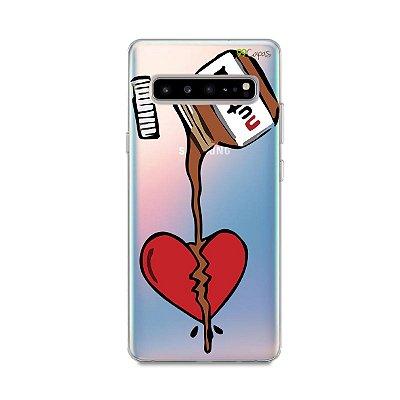 Capa para Galaxy S10 - Nutella