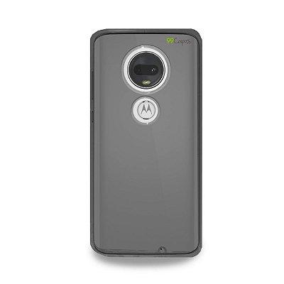 Capa Fumê para Moto G7 Plus {Semi-transparente}
