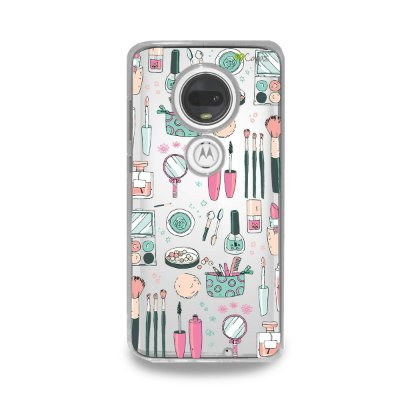 Capa para Moto G7 Plus - Make Up
