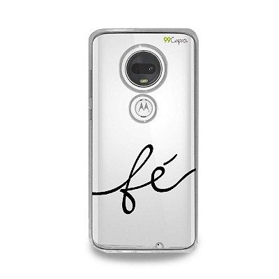 Capa para Moto G7 Plus - Fé