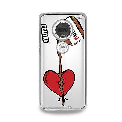Capa para Moto G7 Plus - Nutella