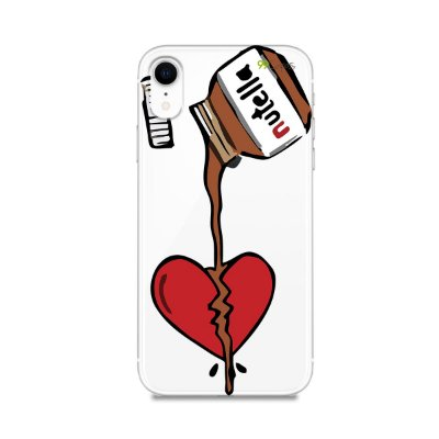 Capa para iPhone XR - Nutella